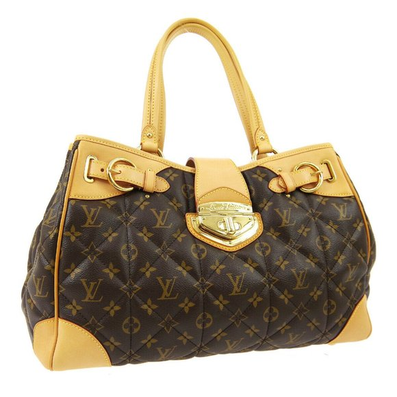 LOUIS VUITTON SHOPPER SHOULDER TOTE BAG MONOGRAM E